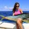 Tengeri horgászat Luiza Barros