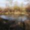 A ma még vízpótlásra váró Feneketlen tó, Kisbodak 2019. január 16.-án 2