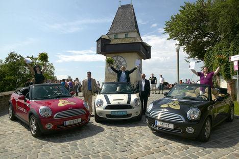Ausztriában kisorsolták a 3 Mini Cabrio-t