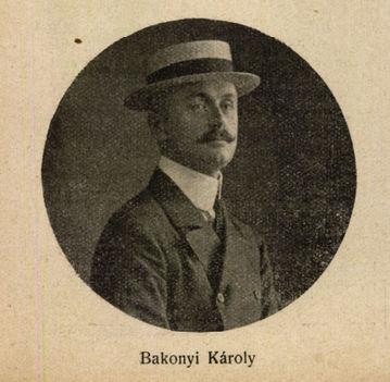 Bakonyi Károly librettista 1914 Színházi Élet