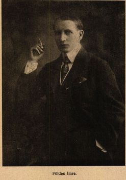 Földes Imre librettista Színházi Élet 1916