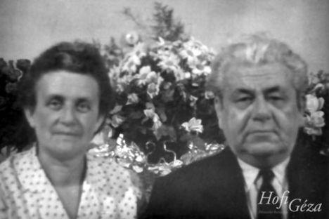 Hofi Géza szülei