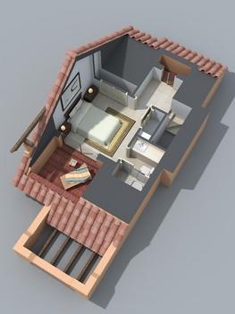 Loft-lakásterv