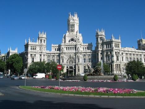 Madrid Plaza de la Cibeles