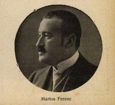 Martos Ferenc  librettista Színházi Élet 1914