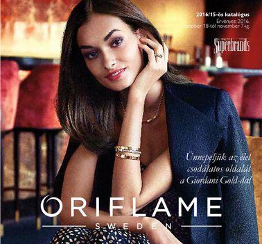 Oriflame katalógus 2016/15.