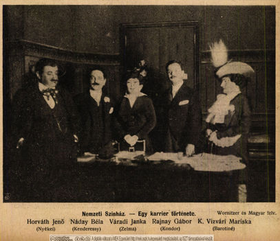 Szerzők  Színházi Élet 1914