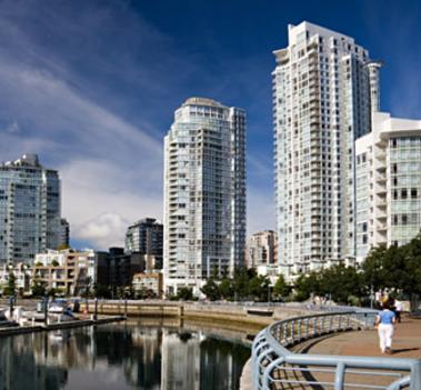 Vancouveri felhőkarcolók
