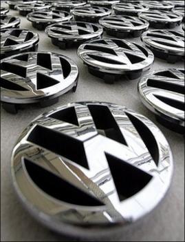 VW emblémák