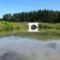 Mosoni-Duna, a Libafarmi holtág rávezető csatornája, Feketeerdő 2016. július 17.-én