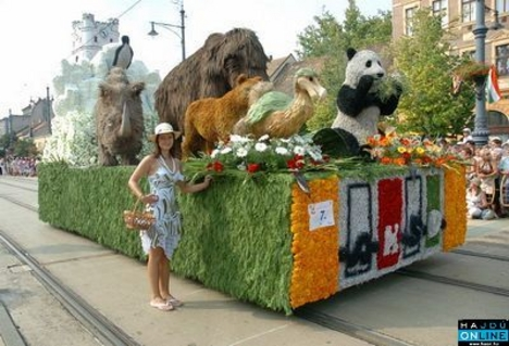 Virágkarnevál. Debrecen 2007