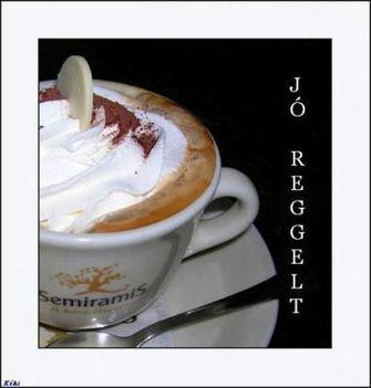 Jó reggelt-kávé