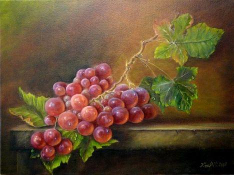 Kraft Ilona Piros szőlő, 2008