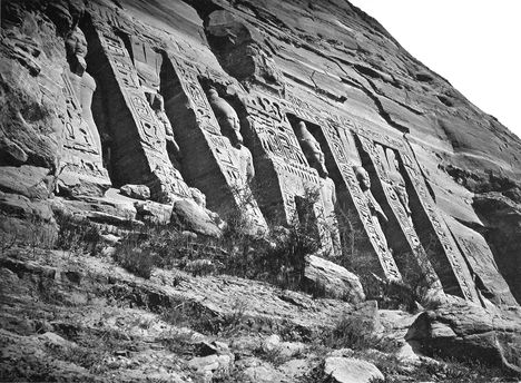 Abu-Szimbel - Nefertari temploma