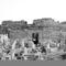 Medinet Habu - A belső szentély előcsarnokának a romjai