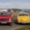 Opel Olympia  és VW. Karmann Ghia