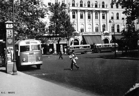 Budapest anno - Vörösmarty tér 1950