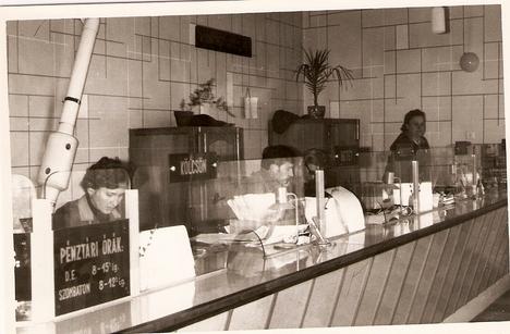 Takarékszövetkezet, ügyféltér, 1970-es évek