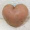 Szív alakú burgonya a kertünkből