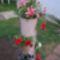 Virágok  csőben