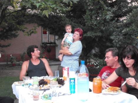 családi vacsi