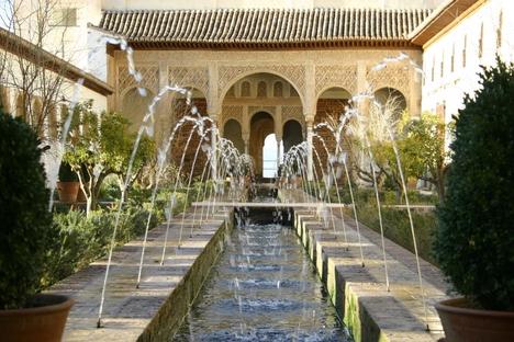 Generalife, Alhambra de Granada,