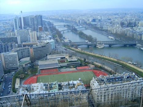 Kilátás az Eiffel-toronyról