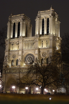 Notre Dame éjjel