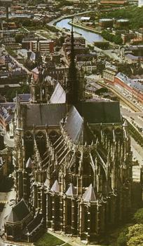 Notre Dame felülről
