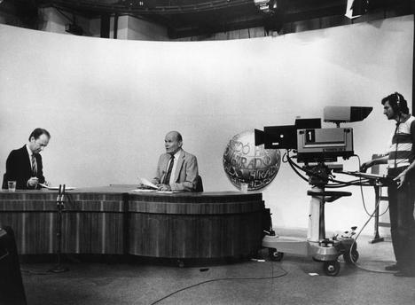 TV studió régen