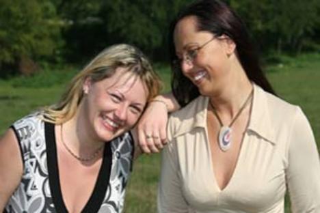 Zsuzsa és Erika