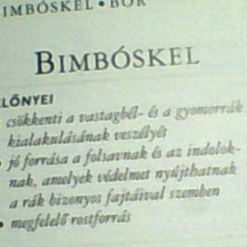 bimbóskel