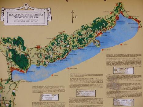 Balaton térképe