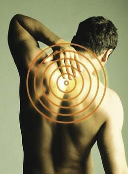 Hátfájás a hát felső részén