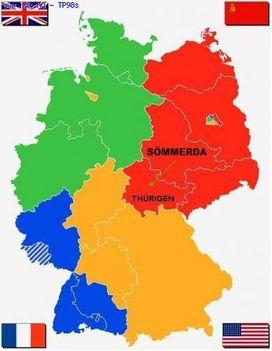 Németország felosztása - 4 nagyhatalom között
