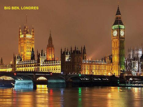 Éjszaka-London, Big Ben