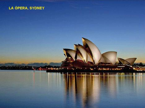 Éjszaka-Sydney, Operaház