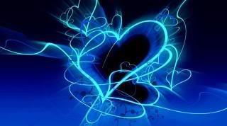 neon szív