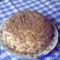 Túrós almás palacsinta torta