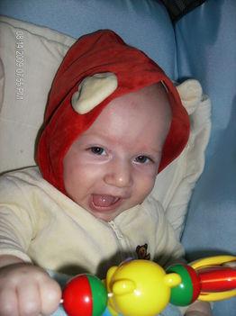 Dominik 4 hónapos