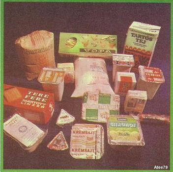 Retro élelmiszerek - 1979