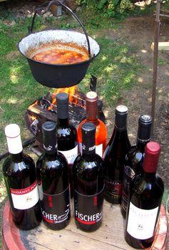 Bográcsolunk vörösborokkal a www.borteka.hu kínalatából