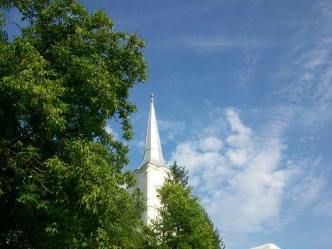 Homoródkarácsonyfalvi Unitárius templom tornya