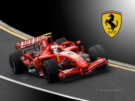 Ferrari F1 2007 a bajnok