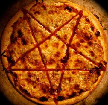 a sátán pizzája