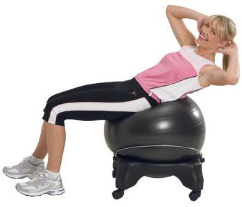 Gymball használata