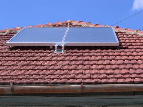 Házi készítésű napkollektor 1