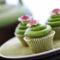 zöldteás muffin
