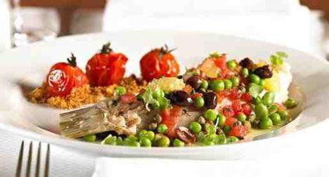 afrikai harcsa roston sütve zöldség körettel