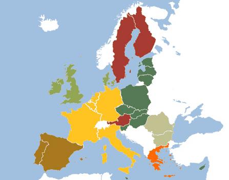 Eu bővítés térképe